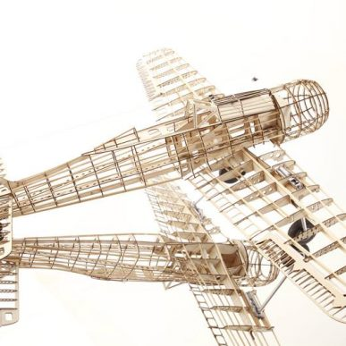 "Focke-Wulf 190 <span class=""focuspoint2"">A8</span> 1/4 Scale Model Wooden Kit"