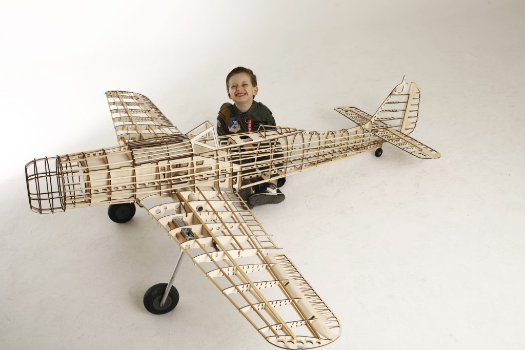 Focke Wulf 190 D9 14 Scale Model Wooden Kit