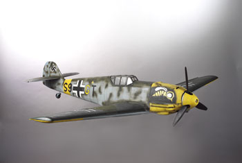 "Messerschmitt BF-109 <span class=""focuspoint2"">E4</span> 1/5 Scale Model Composite Kit"