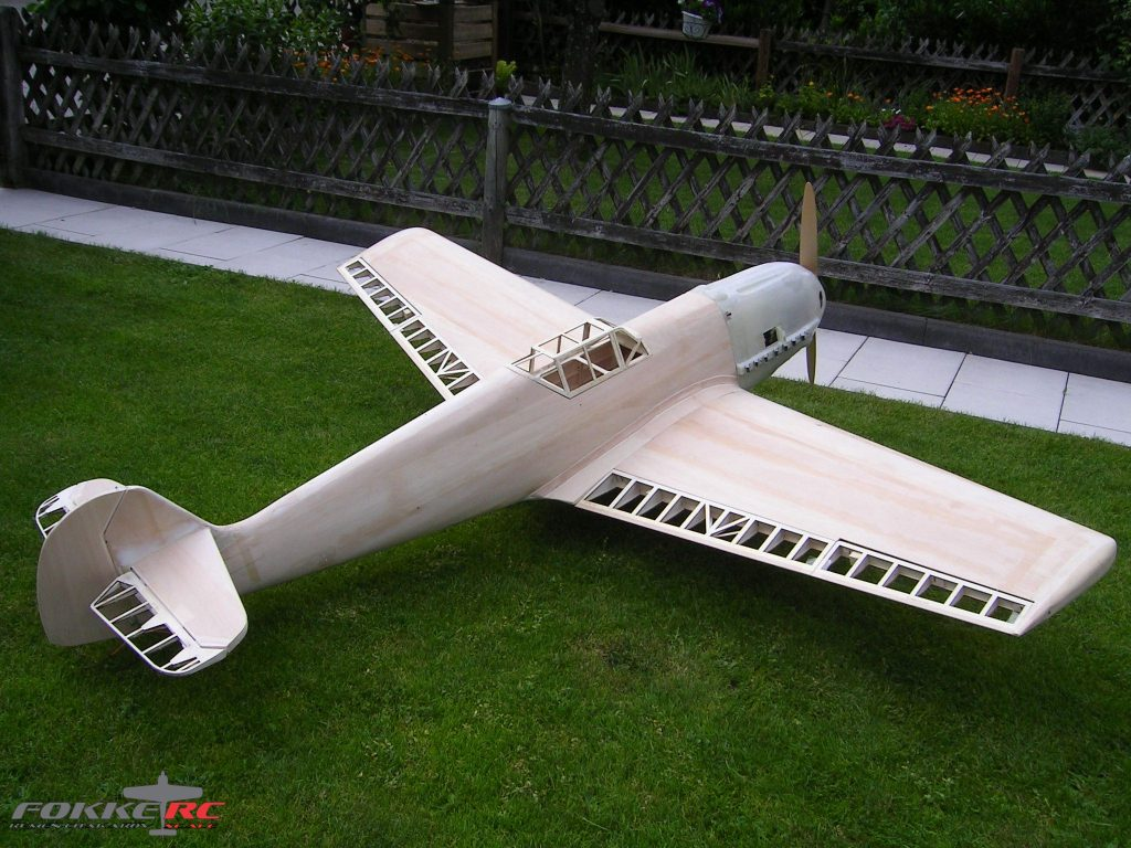 1/4 scale BF-109 E4