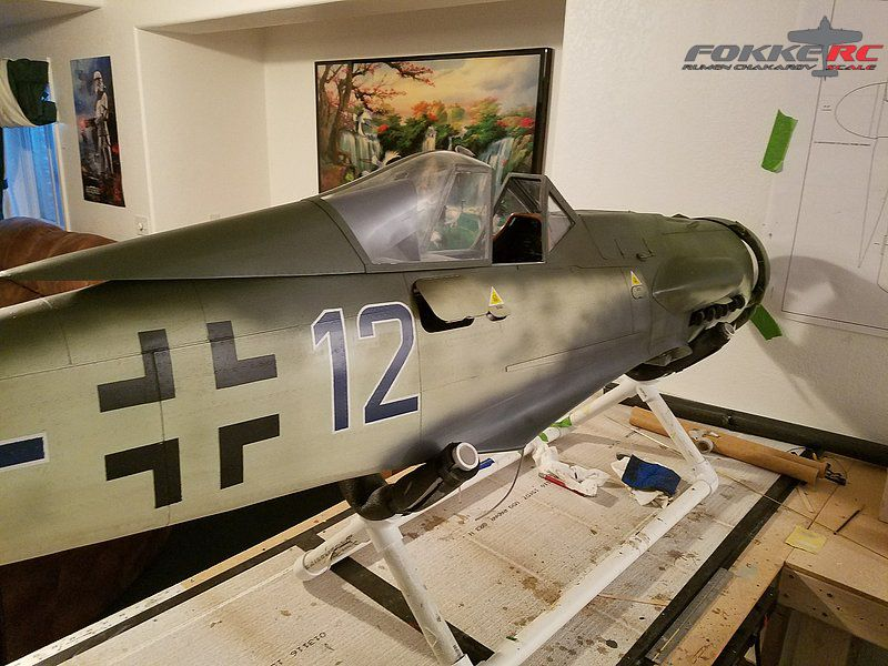 FW-190 D9 1/4  scale
