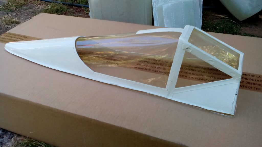 FW 190 A8 1/4 canopy