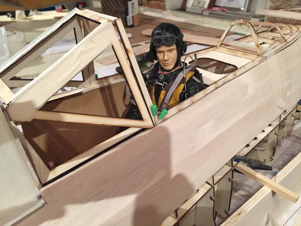 FW-190 D9 1/4 scale news from Austria