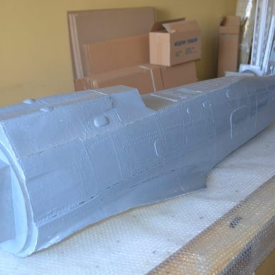 "Focke-Wulf 190 <span class=""focuspoint2"">A8</span> 1/4 Scale Model Composite Fuselage"