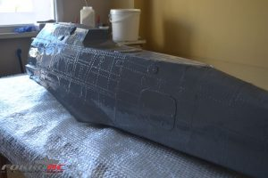 New composite fuselage FW 190 A8 1/4 scale