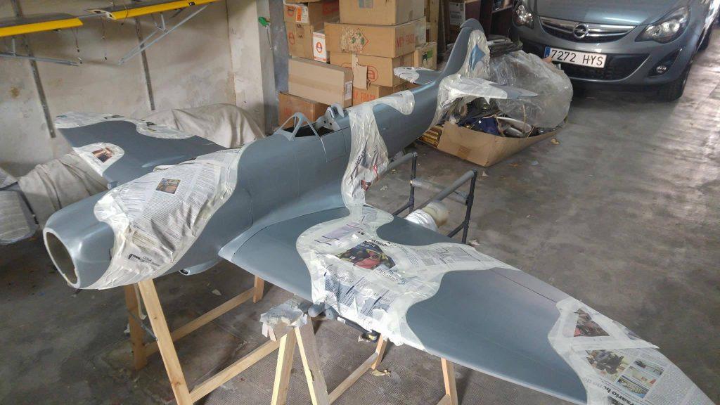 Spitfire MK14 E 1/5 Manu Morey