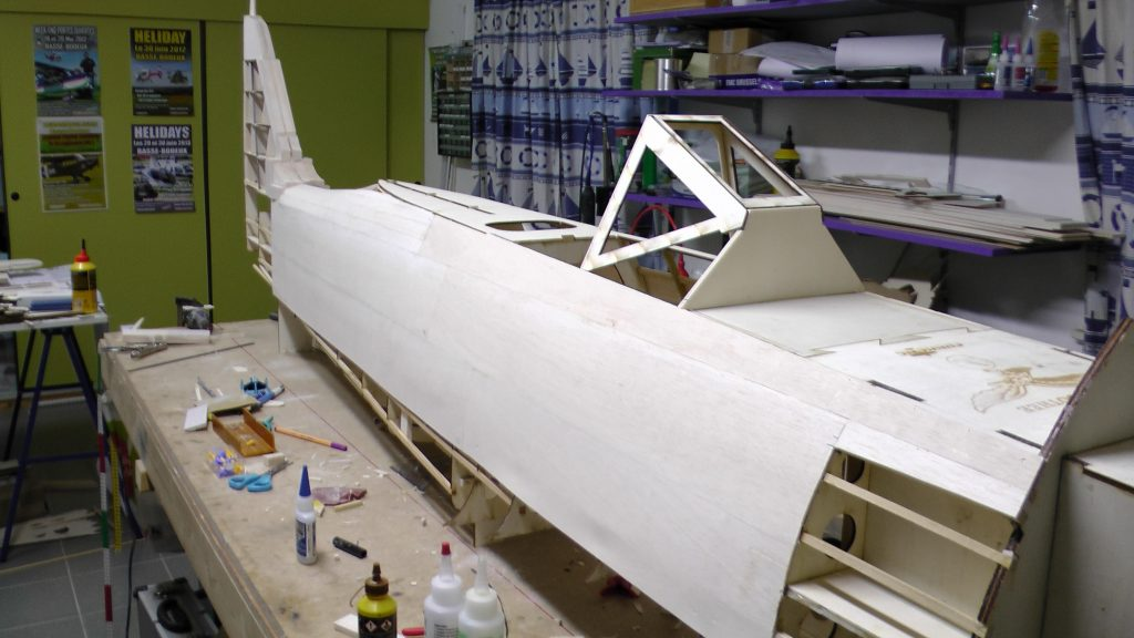 FW 190 A8 1/3 giant scale  update