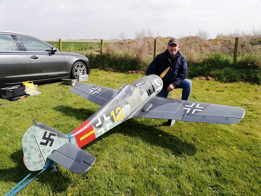 FW-190 A8 1/4  fokkerc.com