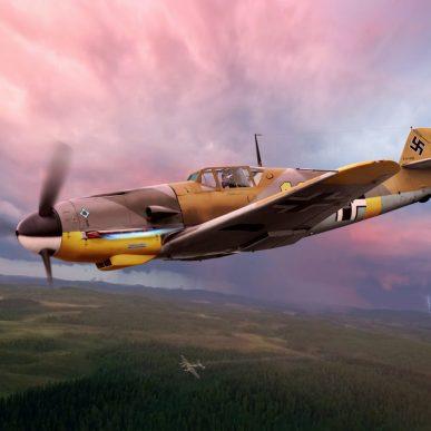 """Messerschmitt BF-109 <span class=""""focuspoint2"""">F</span> <b>1/4 </b>"""