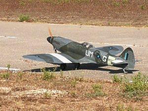 Spitfire MKXIV E 1/5 scale maiden