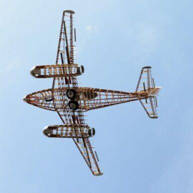 """Messerschmitt  <span class=""""focuspoint2"""">ME-262</span> <b>1/4 </b>"""