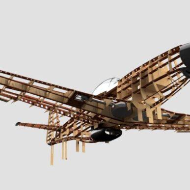 "Mustang <span class=""focuspoint2"">P-51 D</span> <b>1/4  </b>"