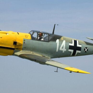 """Messerschmitt BF-109 <span class=""""focuspoint2"""">E4</span><b> 1/3</b>"""