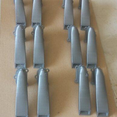 Exhaust Set 12 pieces BF-109 E4